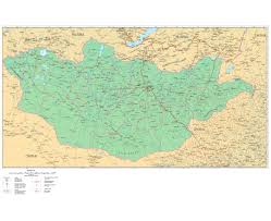 Map Of China With Cities by Maps Of Mongolia Detailed Map Of Mongolia In English Tourist