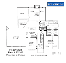 leverett house plan house plans by garrell associates inc