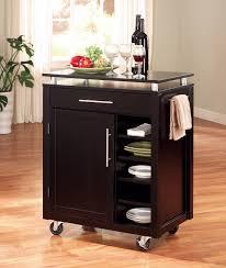 kitchen cart design ideas brown walnut kitchen carts island design