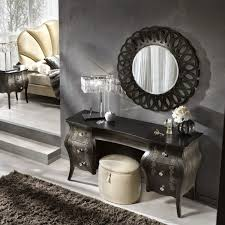 Black Vanity Table With Mirror Catchy Ideas For Functional Dressing Table Designs With Elegant