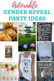 9 adorable ideas for your baby gender reveal party