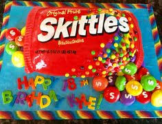skittles cake so need to get this for mack u0027s next bday but with