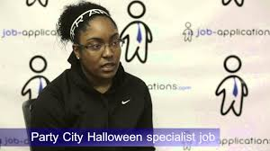 party city halloween costumes sale party city interview halloween specialist youtube
