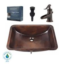 Sink Design by Sinkology Pfister All In One Curie Undermount Bathroom Sink Design