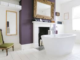 Purple Accent Wall by 10 Ways To Add Color Into Your Bathroom Design Freshome Com