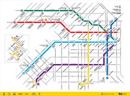Bangkok Subway Map by Buenos Aires Subway Map Subte