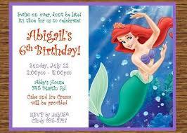 12 printed little mermaid ariel thenotecardlady