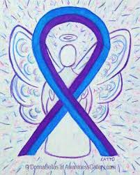 blue support ribbon 157 best blue and purple awareness ribbon gifts images on