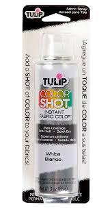 amazon com tulip colorshot instant fabric color 3oz white arts
