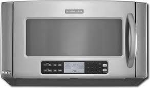 kitchenaid microwave hood fan over the range microwave from kitchenaid