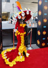 La Muerte Costume Fun On The Red Carpet For The Book Of Life U2022 Living Mi Vida Loca