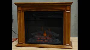 twin star electric fireplace i youtube