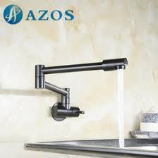 wall mounted kitchen sink faucets 2017 hm finish folding kitchen faucets wall mount single handle