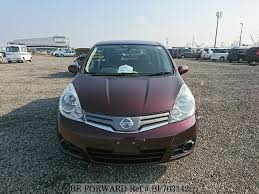 nissan note 2009 interior used 2009 nissan note 15 brownie interior dba e11 for sale bf703142