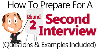 how to ace a second questions exle answers included