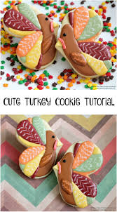 thanksgiving cookie decorating ideas cute turkey cookie tutorial moms u0026 munchkins