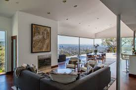 west hollywood hills home with jetliner views of downtown