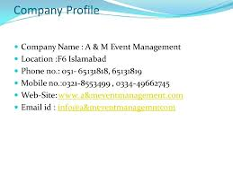wedding company a m event management company wedding planner ppt