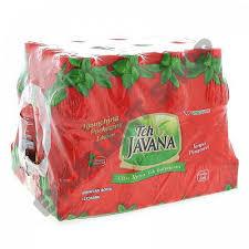 Teh Javana 350ml jual teh javana 350 ml isi 12 botol excellent shop