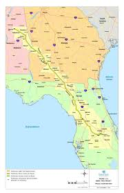 Florida Trail Map by Detailed Project Overview Map From Sabal Trail Spectrabusters