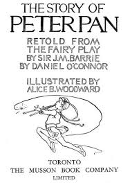 project gutenberg ebook story peter pan retold