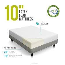 Buy Mattress Online India Amazon Amazon Com Lucid 10 Inch Latex Foam Mattress Ventilated Latex