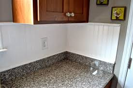 kitchen how to cover an old tile backsplash with beadboard tos diy