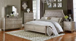 silver bed standard furniture windsor silver bedroom collection