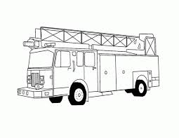100 firefighters coloring pages free printable fire truck
