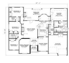 country house plan 59198 total living area 2400 sq ft 4