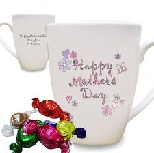 mothers day mugs personalised flowers and butterflies happy mothers day latte mug