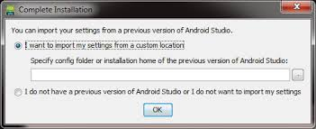 what android version do i from where do i import settings from previous version of android