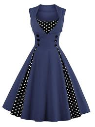 retro cocktail party lunajany women u0027s rockabilly vintage polka dot pin up swing
