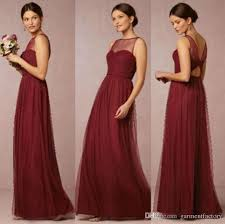 fuschia bridesmaid dress burgundy bridesmaid dresses neckline a line