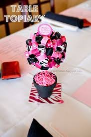 How To Make Ribbon Topiary Centerpieces by Cupcake Express Tutorial On How To Make A Ribbon Topiary A