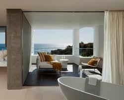 bathroom balcony beach house in laguna beach california