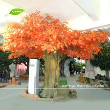gnw btr035 best price maple tree artificial golden leaf autumn