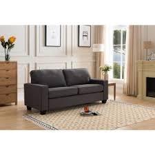 milan gray linen sofa 16 758s the home depot