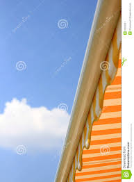 Striped Canopy by Colorful Striped Canopy Or Awning Stock Image Image 32203351