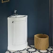 Cloakroom Corner Vanity Unit Corner Bathroom Furniture Corner Vanity Units Sanctuary Bathrooms