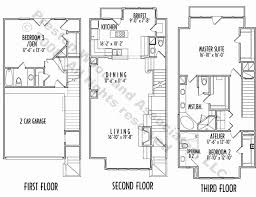 3 story floor plans 3 story house plans inspirational floor plans for a 3