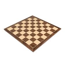 quality walnut wood chess board with 2 3 8