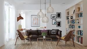 fascinating scandinavian living room designs combined with wooden