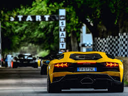 fastest lamborghini these are the 5 fastest supercars from the goodwood festival of