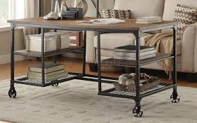 Industrial Standing Desk by 5099 Writing Desk By Homelegance W Optional Bookcases