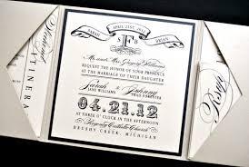 tri fold wedding invitation wording tags trifold wedding