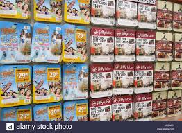 prepaid gift cards display in costco wholesale store usa stock