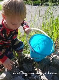 crafting play painting garden rocks