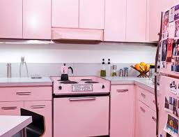feminine style kitchen island with white wall paint color and l