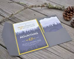 Wedding Invitations With Pockets Cards U0026 Pockets Design Idea Blog Diy Wedding Invitation Ideas